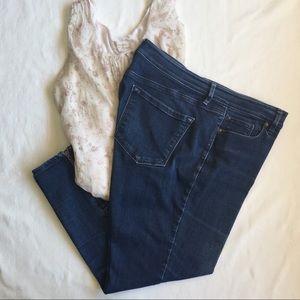 LOFT • Ankle Zip Jeans